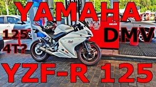 Yamaha YZF-R 125 4T - Pierwsze wrażenia - 125 w 4T, co?! | Dajczu MotoVlog #1