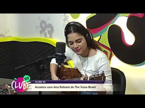 Ana Rafaela do The Voice Brasil no Clube 93