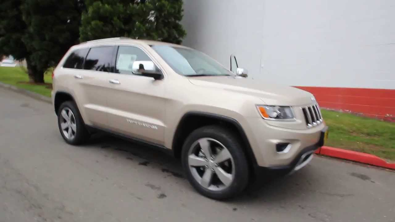 2014 Jeep Grand Cherokee Limited Cashmere Pearl