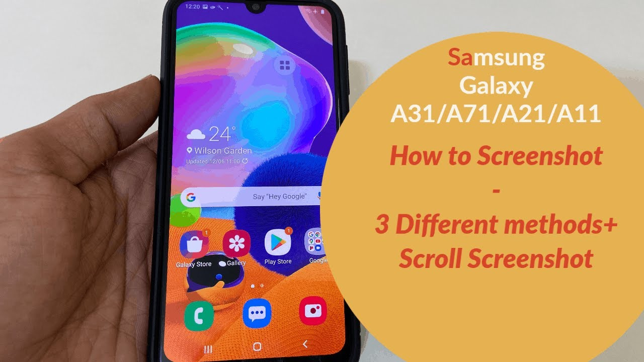 How to take screenshot on Samsung Galaxy A9/A9/A9/A9- 9 Different  Methods+scroll screenshot