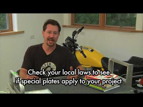3 Build Your Own Electric Motorcycle - FULL - 3 License insurance and Legal