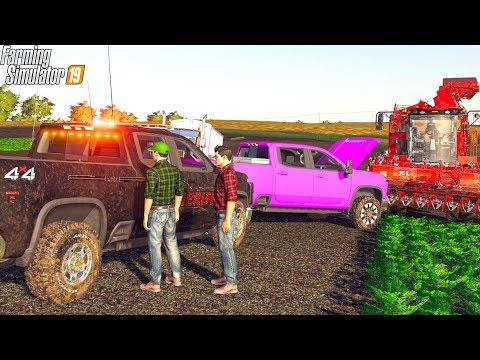 BAD GUY DESTROYED OUR CARROT FIELD | MEGA RANCH | FARMING SIMULATOR 2019