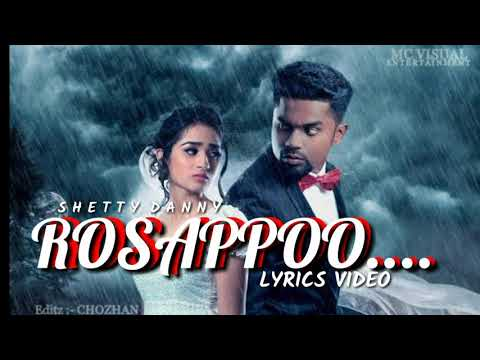 #ROSAPOO SONG LYRICS VIDEO