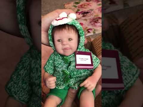 """Ashton Drake Freddy froggy, 10"""" vinyl doll"""