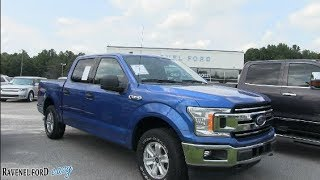 The 2018 Ford F150 Crew Cab XLT - For Sale Review @ Ravenel Ford | August 2018