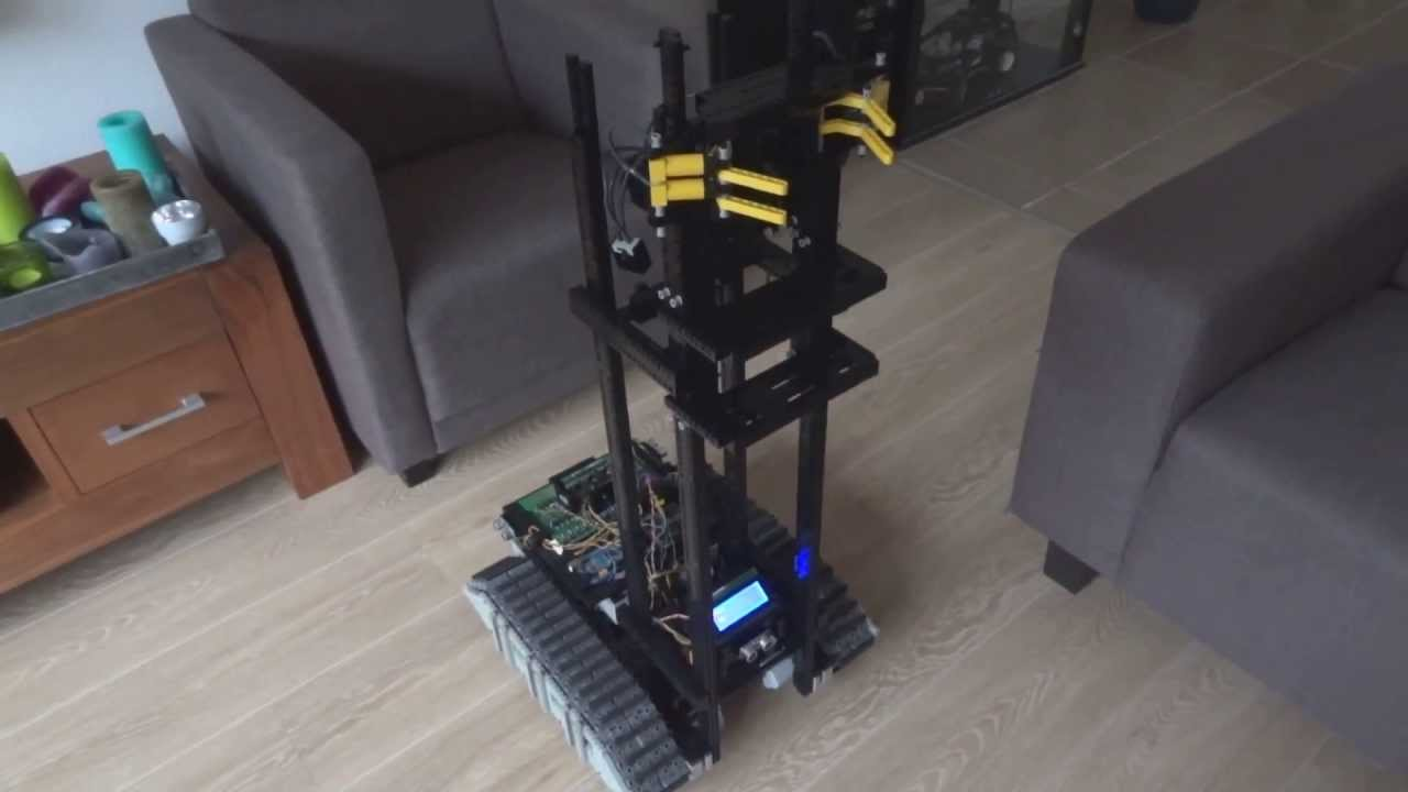 Lego arduino robot video indoor navigation youtube