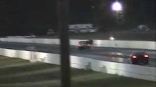 Milan Friday Night Heads Up July 09 - Skinny Kids Racing Oldsmobile 6.14@233mph