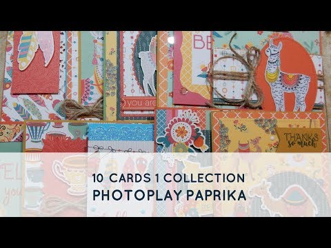 10 Cards 1 Collection | PhotoPlay Paprika