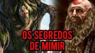 God of War 4   Os SEGREDOS de Mimir o ser mais inteligente vivo