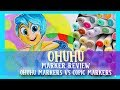 OHUHU MARKERS Review Ohuhu Markers VS Copic Markers - @dramaticparrot