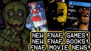 SPRINGTRAP REACTS TO: Upcoming FNAF Projects Mega-Thread || NEW GAMES, BOOKS AND FNAF MOVIE NEWS!!!