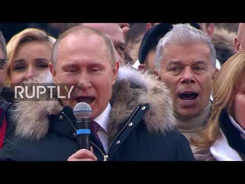 Russia: Putin addressed