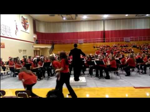 Blackford Junior High School Band-Christmas 2014-1