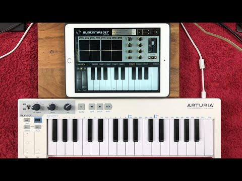 Playing Various IPad Synths With The Atruria KeyStep