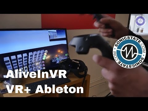 HTC Vive VR Interface For Ableton Live