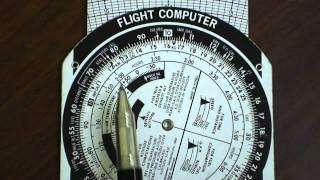 E6B Flight Computer: Kilometers to Statue or Nautical Miles