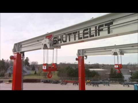 Guindastes de Pórtico Sobre Pneus Shuttlelift Série DB