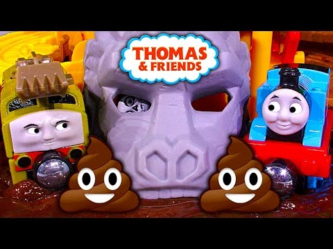 Thomas The Tank Take N Play Jungle Quest Dinosaur Poop Toy Train Review & Fail