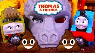 Thomas The Tank Take N Play Jungle Quest Dinosaur Poop Toy Train Review & Fail