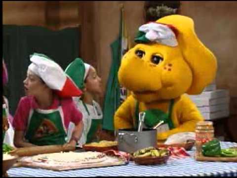Barney Adventure Bus - Pizza Song