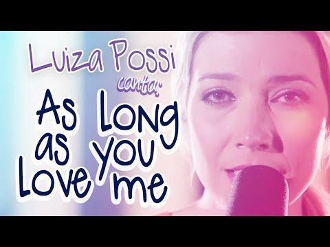 LUIZA POSSI - AS LONG AS YOU LOVE ME BACKSTREET BOYS  LAB LP