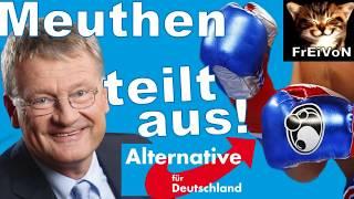 AfD * Meuthen teilt aus! FREAK-SHOW und FACEBOOK-STASI im SCHURKEL-STAAT