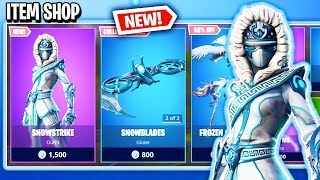 *NEW* SNOWSTRIKE SKIN & MORE!? Fortnite Item Shop! Daily & Featured Items! (Feb 7th/Feb 8th)