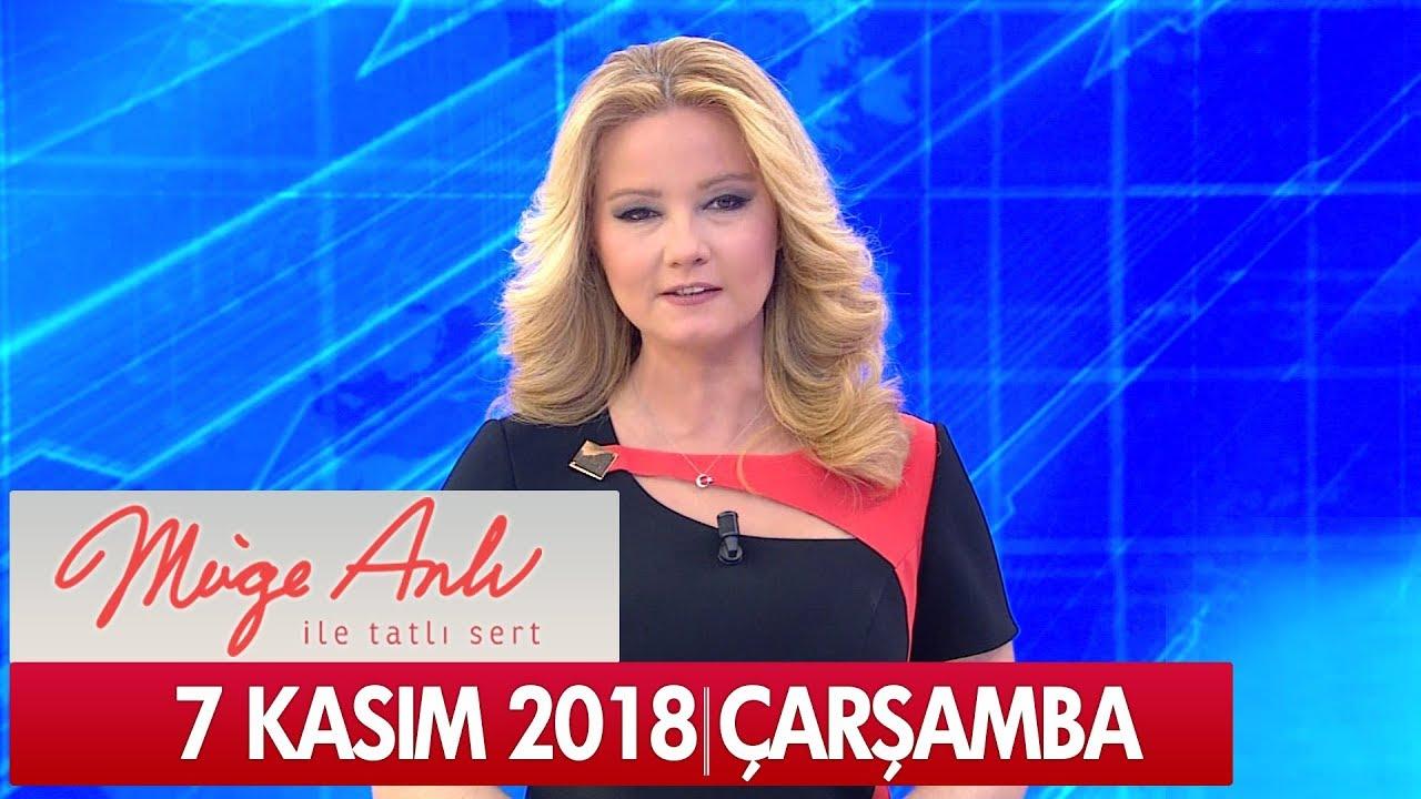 Müge Anlı ile Tatlı Sert 7 Kasım 2018 - Tek Parça