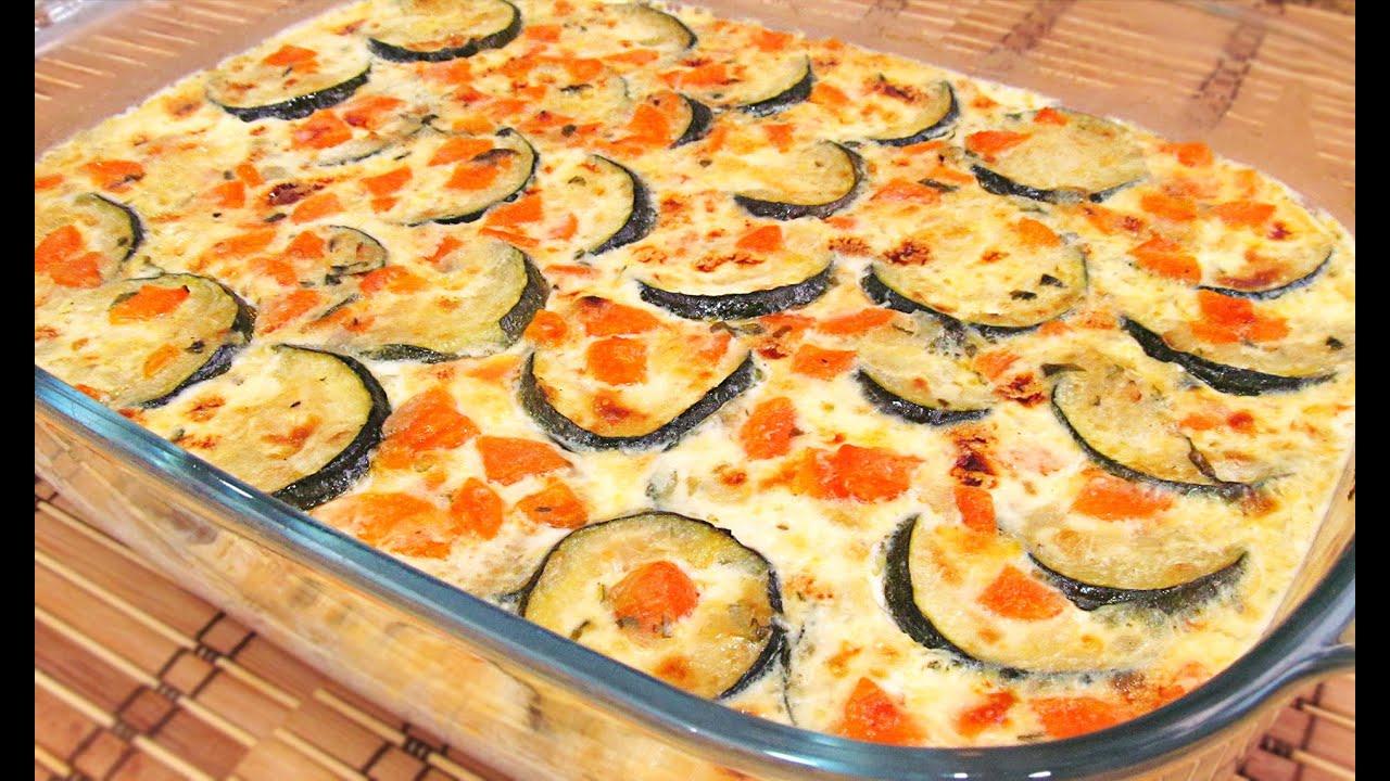 Pastel de Verduras con Calabacín delicioso - YouTube