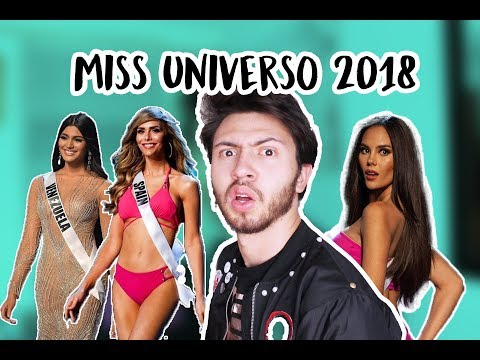 MISS UNIVERSO 2018 ¡¿QUÉ PASÓ ANOCHE?  Niculos M