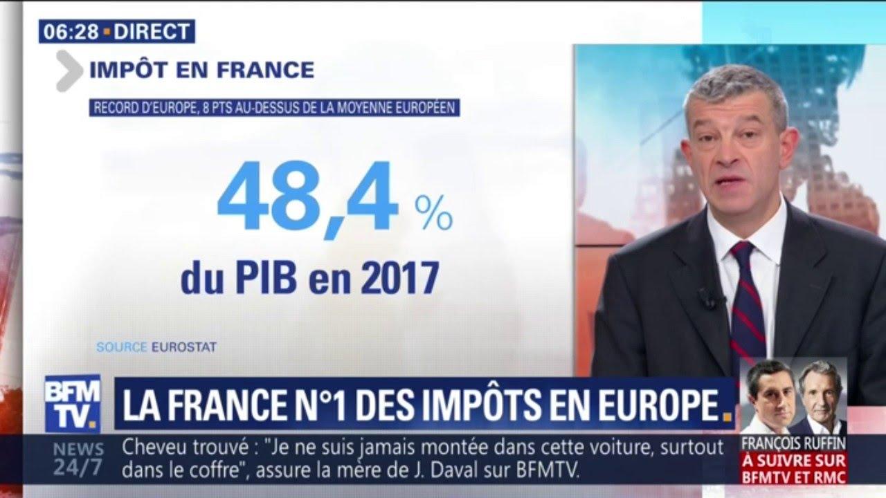 La France est championne d'Europe des impôts
