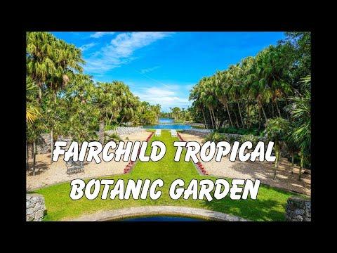 Most Tropical Garden In Miami - Fairchild Tropical Botanic Garden