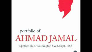 Ahmad Jamal Trio at the Spotlight Club - Ahmad