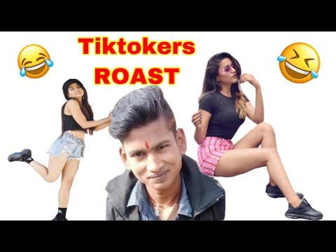 ROASTING Gima Ashi| Both Hard Tiktok viral Girls ft. Rocky Superstar's New Girlfriend