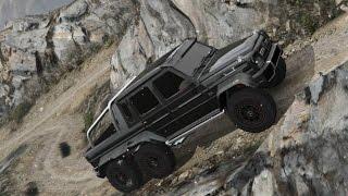 Mercedes Benz G65 6x6 | Escalada al Monte Chiliad | Offroad | GTA V