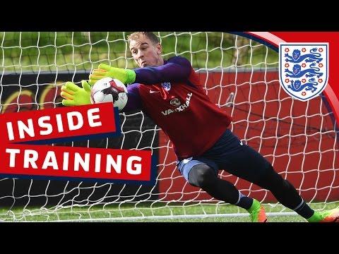 Goalkeeper Reaction Training With Hart, Forster & Heaton | Inside Training