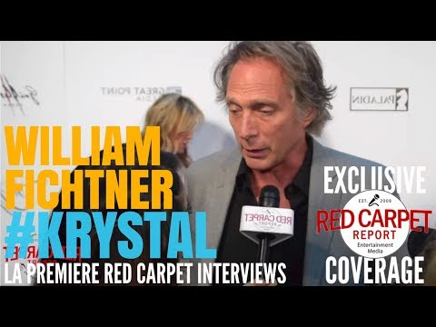 "William Fichtner Interviewed at the LA Premiere of ""KRYSTAL"" #KrystalMovie"