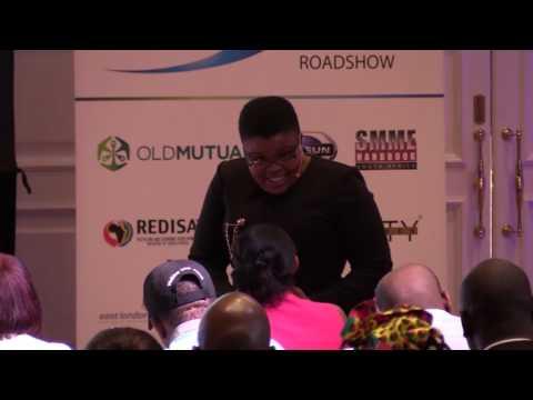 Thabang Mashigo at SMME Opportunity Roadshow 2017 Port Elizabeth