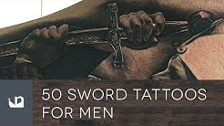 50 Sword Tattoos For Men