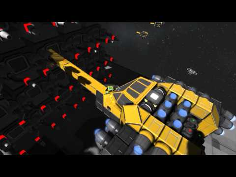 Space Engineers How To Build A Ship From A Blueprint