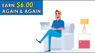 Make $6 Again & Again Worldwide (Free PayPal Money)
