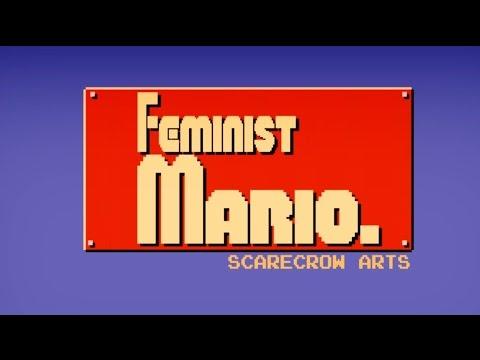 """Feminist Mario"" (Mario Parody Animation) - ScarecrowArts"