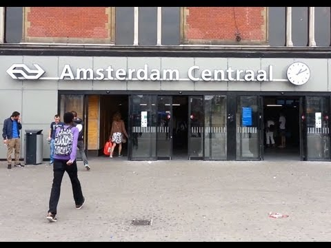Amsterdam Central Station - The Netherlands (Holland)