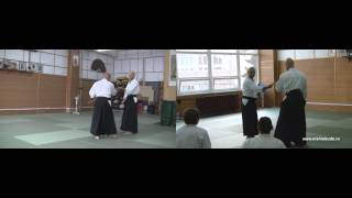 Gyakuhanmi ura ikkyo (TD, JT)