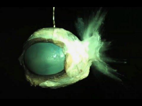 Eyeballs vs. Bullets in SlowMo