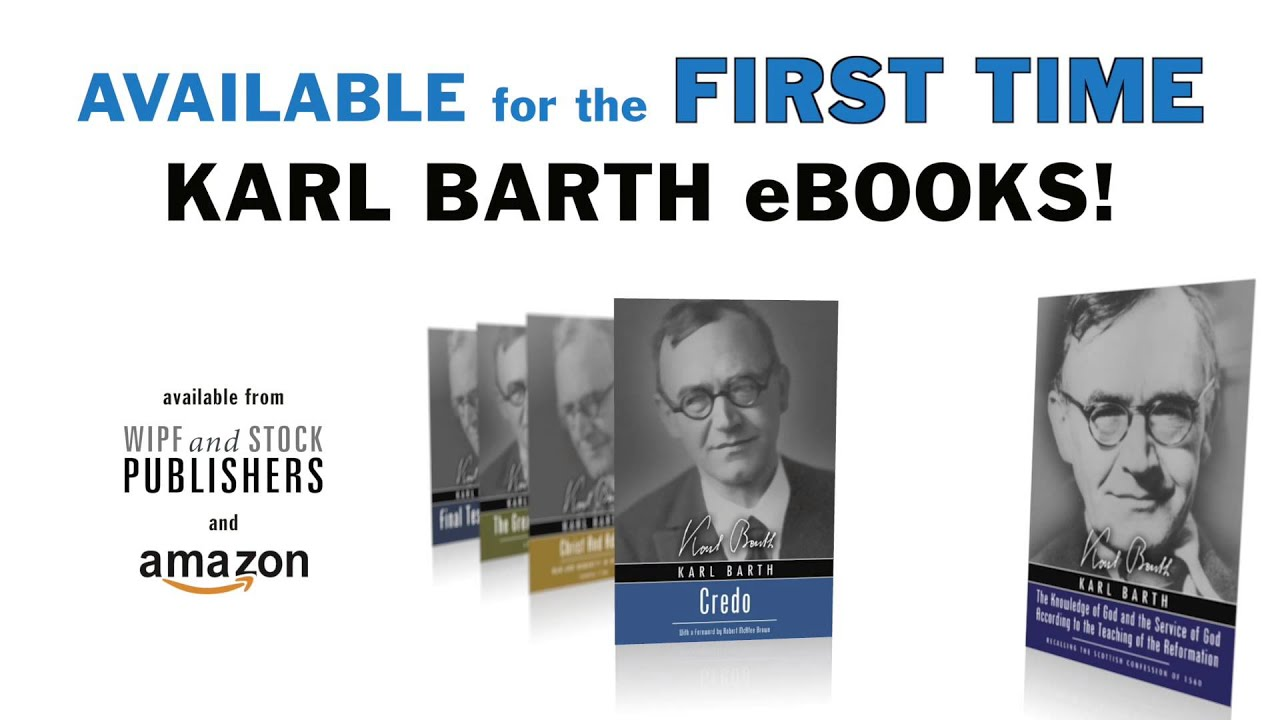 Karl Barth Titles Available As Ebooks