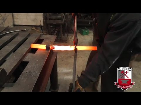 Blacksmithing - Forging - How To Twist Metal Bars Using A Forge