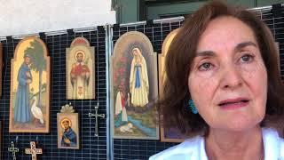 Santa Fe Spanish Market - Artist Interview - Guadalupita Ortiz | Retablos