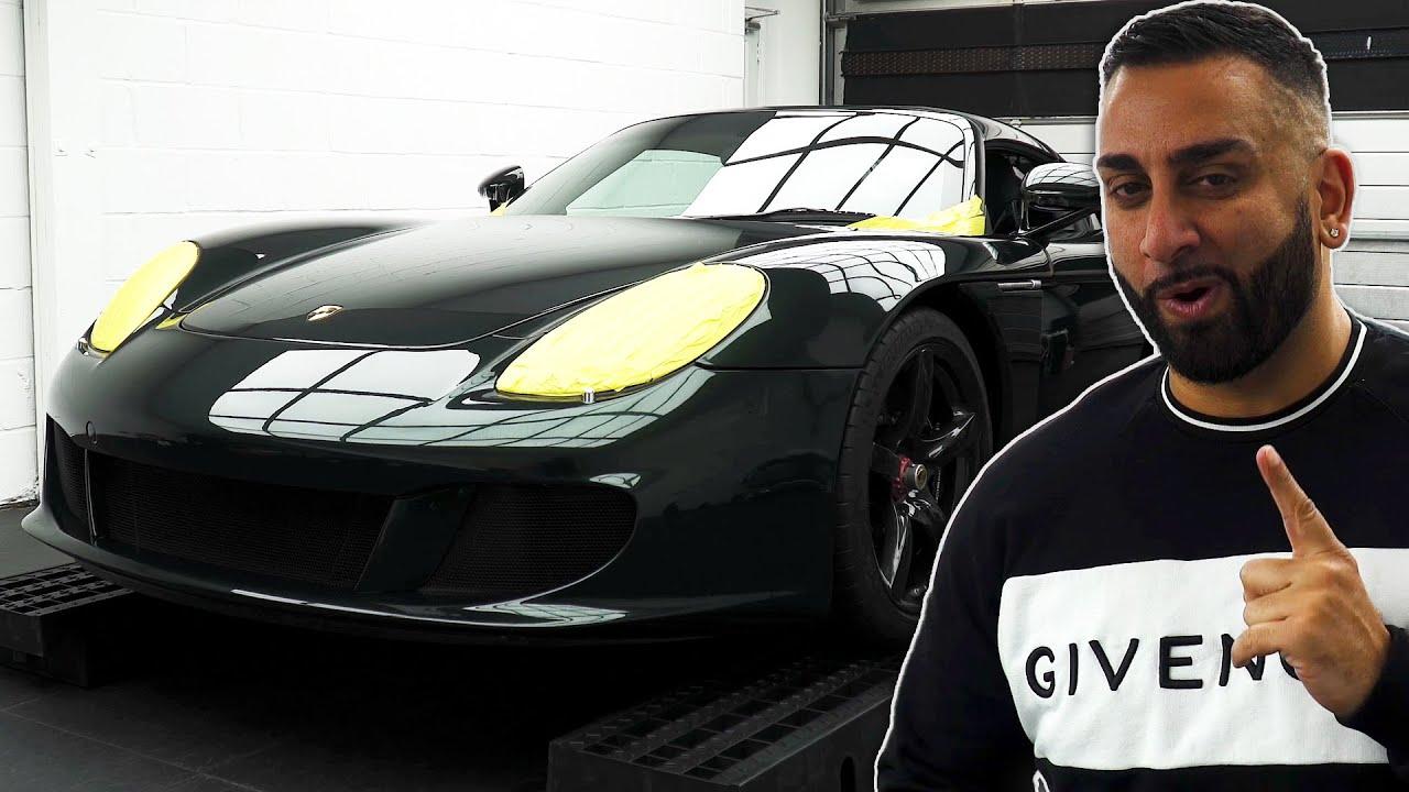 Protecting A 1of6 Porsche Carrera Gt Zagato In Ppf Youtube