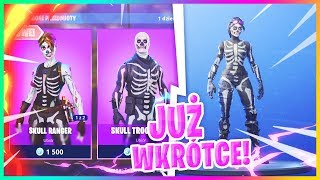 UPCOMING SKINS DISCOVERED! (WOMEN'S SKULL TROOPER IN THE GAME!) -Fortnite Battle Royale